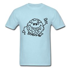 CONLEGO Personalize Men's Schleimkugel Monster T-Shirts Sky Blue