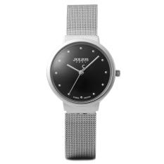 Coobonf Ultrathin Female Steel Wristwatch Women Dress Watches Fashion Casual Japan Quartz Watch Famous Julius 426 Clock Free Shipping