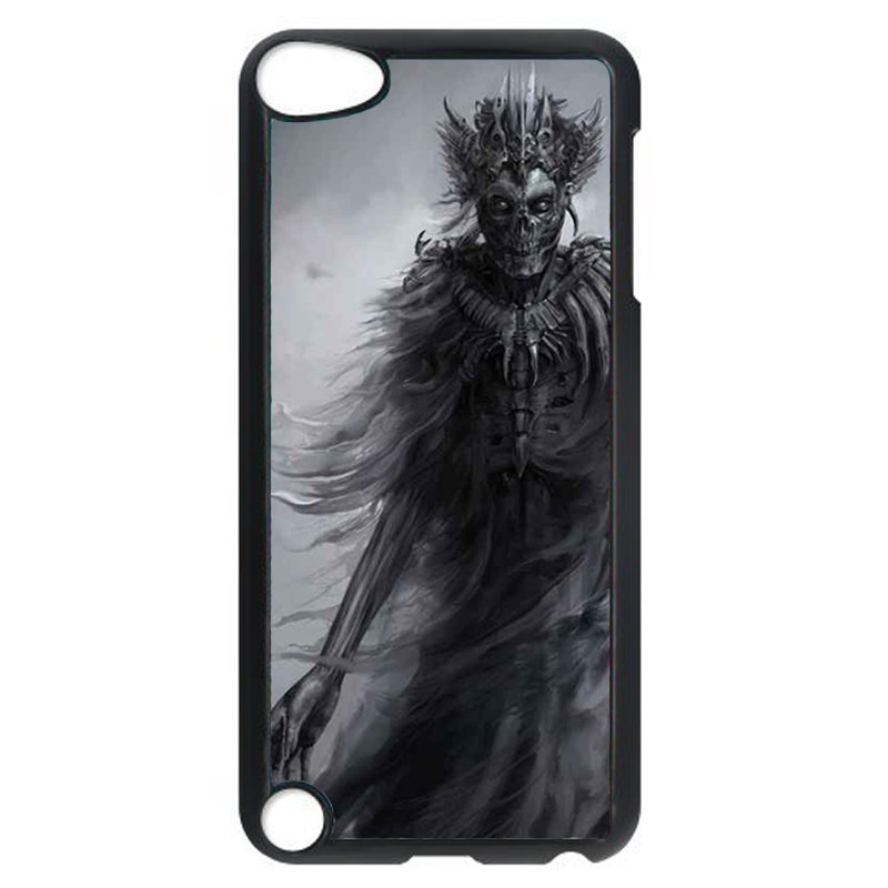 Cool Horror Dark Skull Phone Case for iPod Touch 5 (Black)