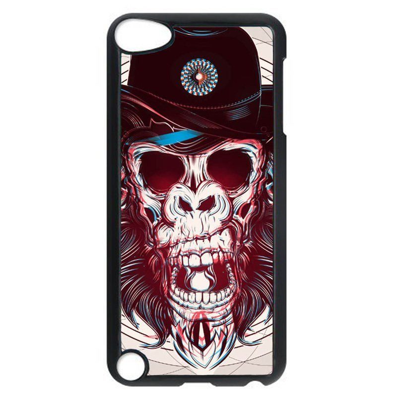 Cool Orangutan Pattern Phone Case for iPod Touch 4 (Black)