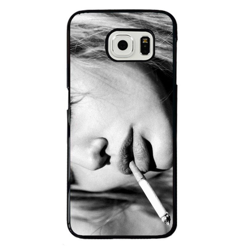 Cool Smoking Girl Painting Phone Case for Samsung Galaxy S5 E5000 (Multicolor)