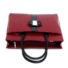 COSCELIA New Luxury OL Lady Bags Handbags Women Famous Brands Crocodile Pattern Hobo Handbag Tote Fashion Lady PU Shoulder Handbag - Intl