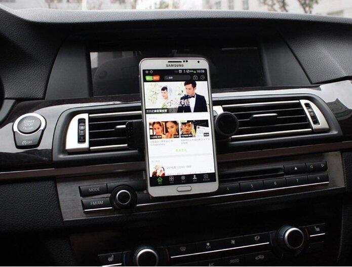 Creative Air Outlet Car Phone Holder(Black) (Intl)