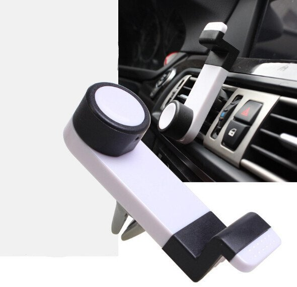 Creative Air Outlet Car Phone Holder (White) (Intl)