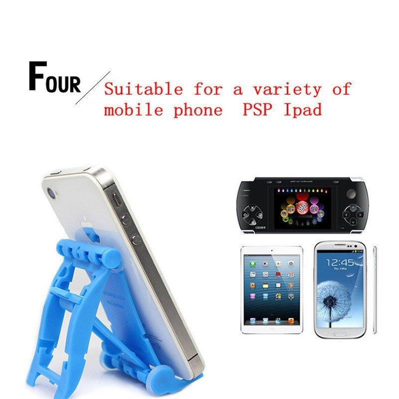 Creative Bracket Race Car Phone Holder Mobile Phone (White) (Intl)