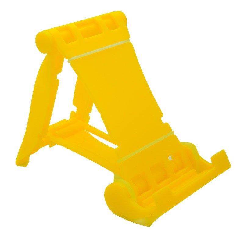 Creative Bracket Race Car Phone Holder Mobile Phone (Yellow) (Intl)