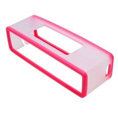 Creative Practical Bluetooth Speaker Soft Cover For Bose SoundLink Mini (Pink)
