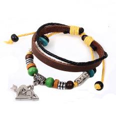 Creative Stone Mandrel Woven Bracelet Gift Couples - Intl