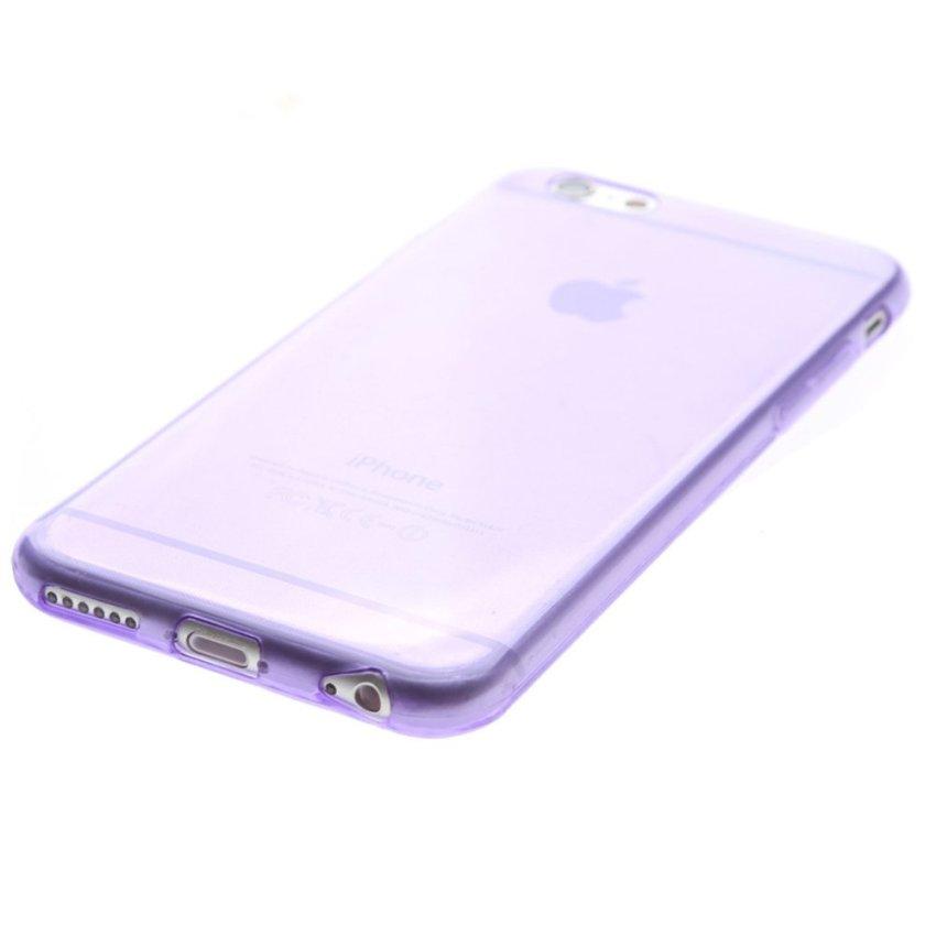 Crystal Soft Back Case for iPhone 6 (Violet)