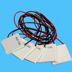 CST 5Pcs 12.5.8A TEC1-12706 Heatsink Thermoelectric Cooler Peltier Cool Plate