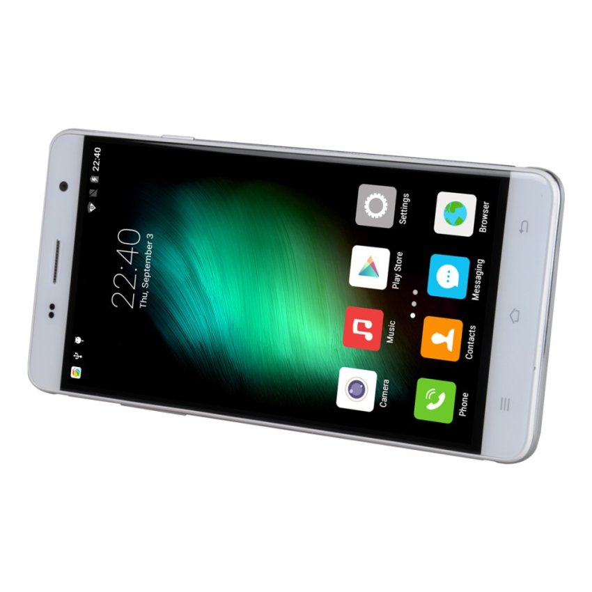 CUBOT H1 5.5-inch MTK6735 Quad Core 64-bit 1.0GHz 2GB/16GB Android 5.1 LTE 4G Smartphone with EU-plug Power Adapter (White)