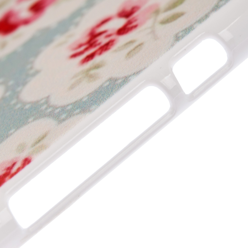 Cute Floral Flower Pattern Hard PC Back Skin Case for Apple iPhone 6 6S 4.7