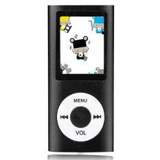 "Cyber 32GB Slim Mp3 Mp4 Player with 1.8"" LCD Screen FM Radio Video Games & Movie (Black)"