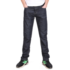 Cyber Zeagoo Men's Casual Classic Slim Solid Denim Pants Jeans Trousers Size 30-36 (Intl)