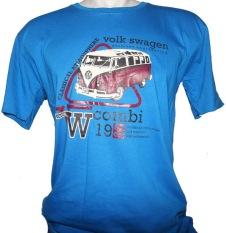 Cyl Kaos T-Shirt Distro Volk Swagen - Biru