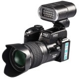 D3200 HD 5.0MP CMOS 3 inch TFT LCD Screen Digital Camera professional 21X Optical Zoom Cameras with LED (Black)