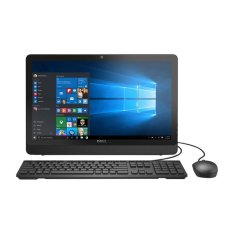"Dell AIO 3052 - Intel Pentium N3150 - RAM 2GB - Windows 10 - 500Gb - 20"" - Intel HD Graphics - Hitam"