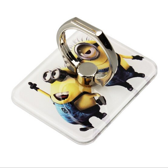 Despicable Me Minions Universal Ring Grip/Stand Holder For iPhone Mobile Phone Any Smart Device (Intl)
