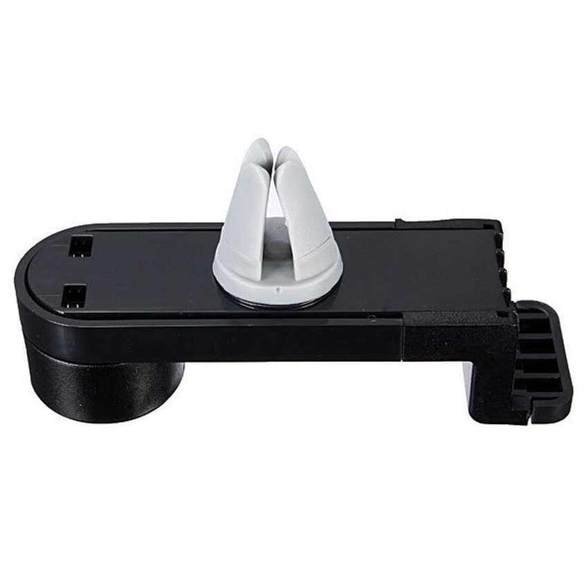 DHS Adjustable Car Air Vent Mount Holder Cradle Bracket for iPhone (Black) (Intl)