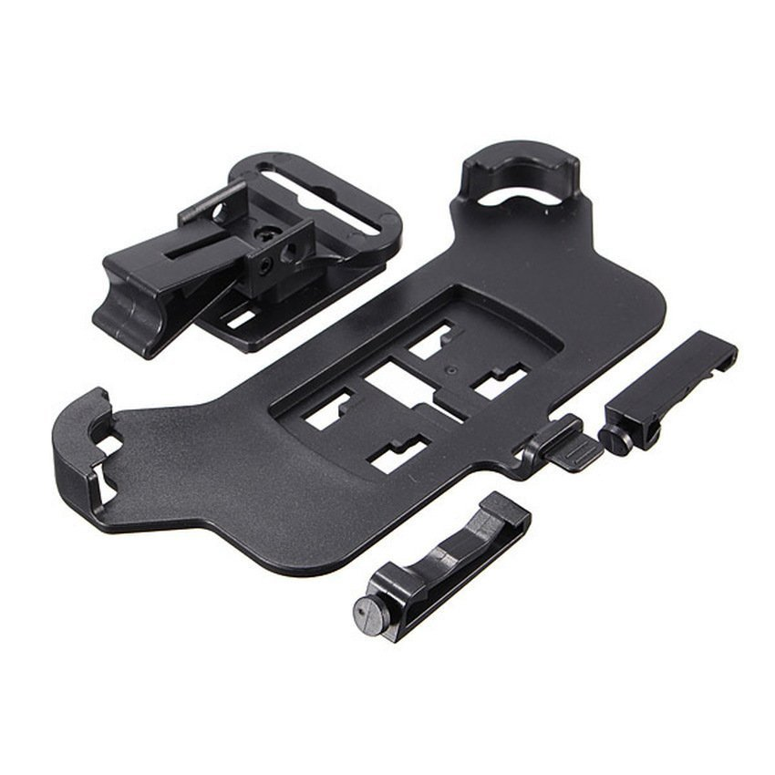 DHS Auto Car Air Vent Mount Dash Phone Holder Accessory Set for Apple iPhone 6 (Black) (Intl)