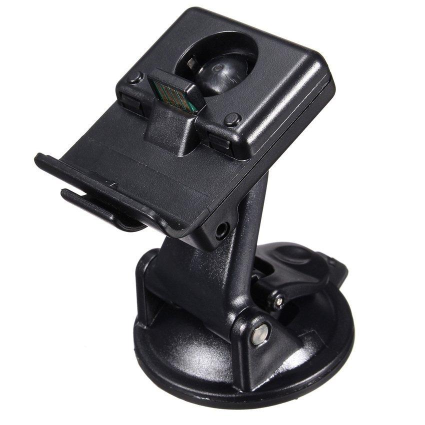 DHS Car Windshied Charger Mount GPS Holder Cradle for Garmin Nuvi 300 300T 310 310T (Black) (Intl)