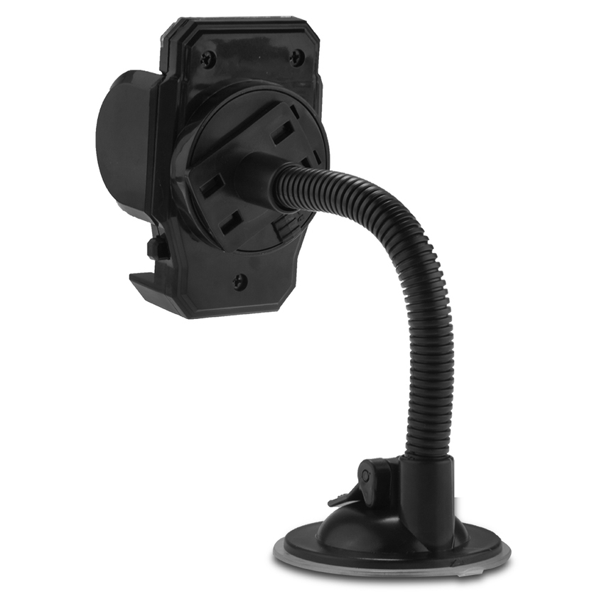 DHS Universal 360°Car Mount Cradle Stand Holder Suction Cup for Cell Phone GPS Black (Intl)