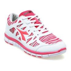 Diadora Abiyan Sepatu Lari Wanita - Putih-Pink