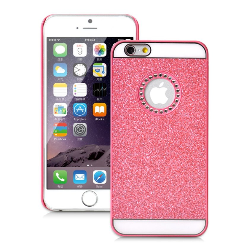 Diamond Glitter Hard Case Cover for Apple iPhone 6/6S 6s (Pink) (Intl)