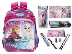 Disney Frozen Original Medium Backpack & Stationery Set - FZ 924021