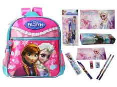 Disney Frozen Original Set Toddler Backpack & Stationery Set - FZ 924018