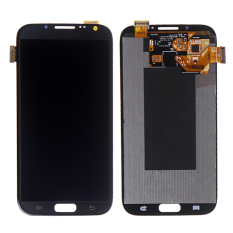 Display LCD With Digitizer Assembly For Note2 N7100 LCD For Samsung Galaxy Note 2 N7100 Black - Intl