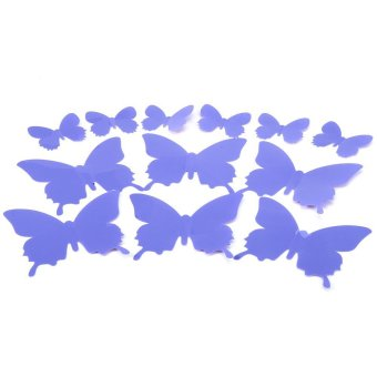 DIY 3D Butterfly Wall Sticker Art Decal PVC Paper for Living Room ...