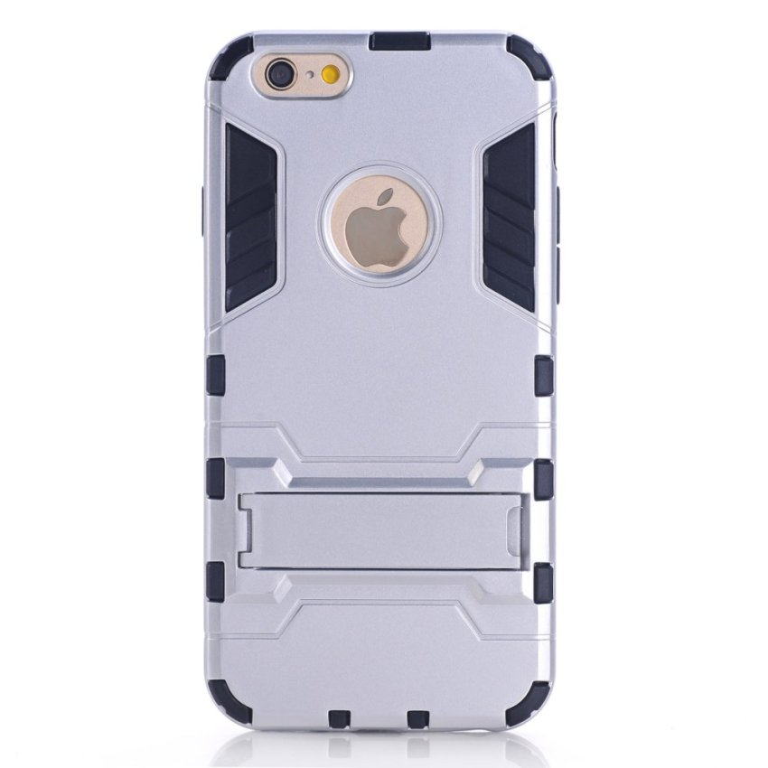 Dual Layer Case for iPhone 6 (Silver)