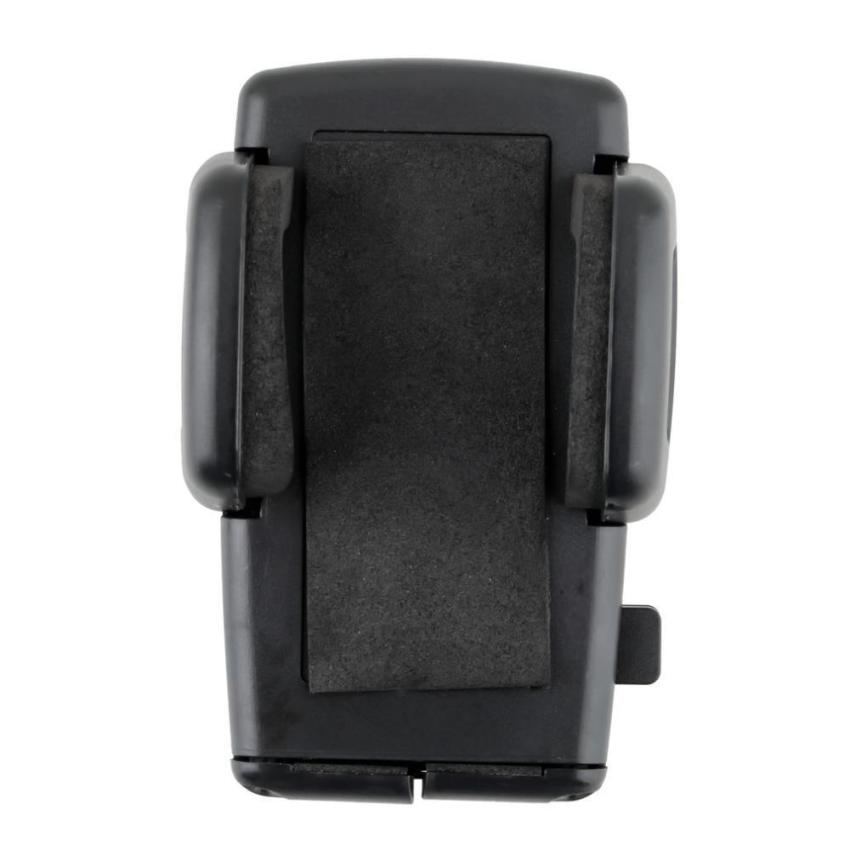 Dual USB Car Charger Phone Mount Holder for iPhone 6 GPS (Black) (Intl)