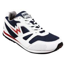 Eagle Sepatu Lari Spectrum - Putih/Biru Navy