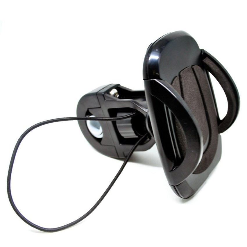 Easy One Touch Bike Mount for Smartphone - L-0811-BMB - Hitam
