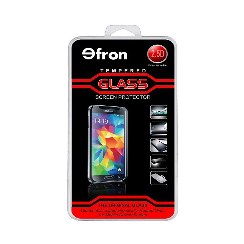 Efron Glass Sony Xperia M2 / 550H - Premium Tempered Glass - Rounded Edge 2.5D