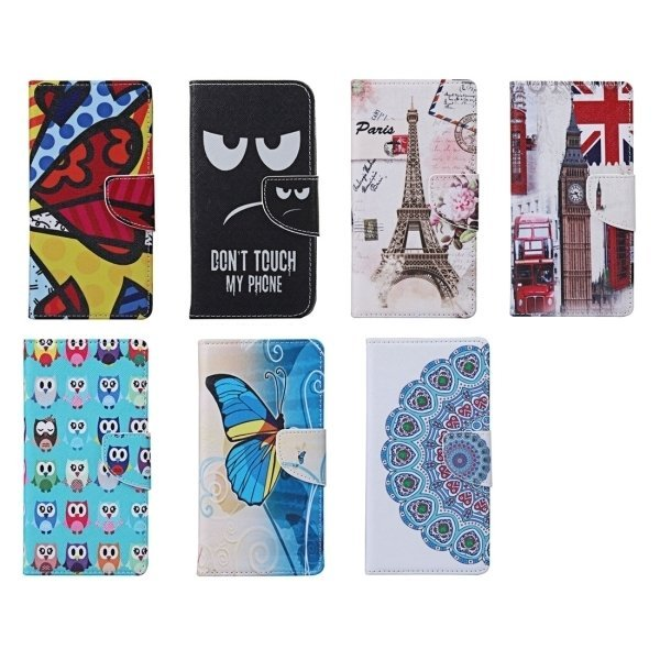 Eiffel Tower Pattern Horizontal Flip Leather Case with Holder and Card Slots and Wallet for Motorola Moto X Style (Intl)
