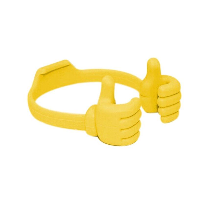 ELENXS General Hand Lazy Straight Sides Desktop Holder (Yellow) (Intl)