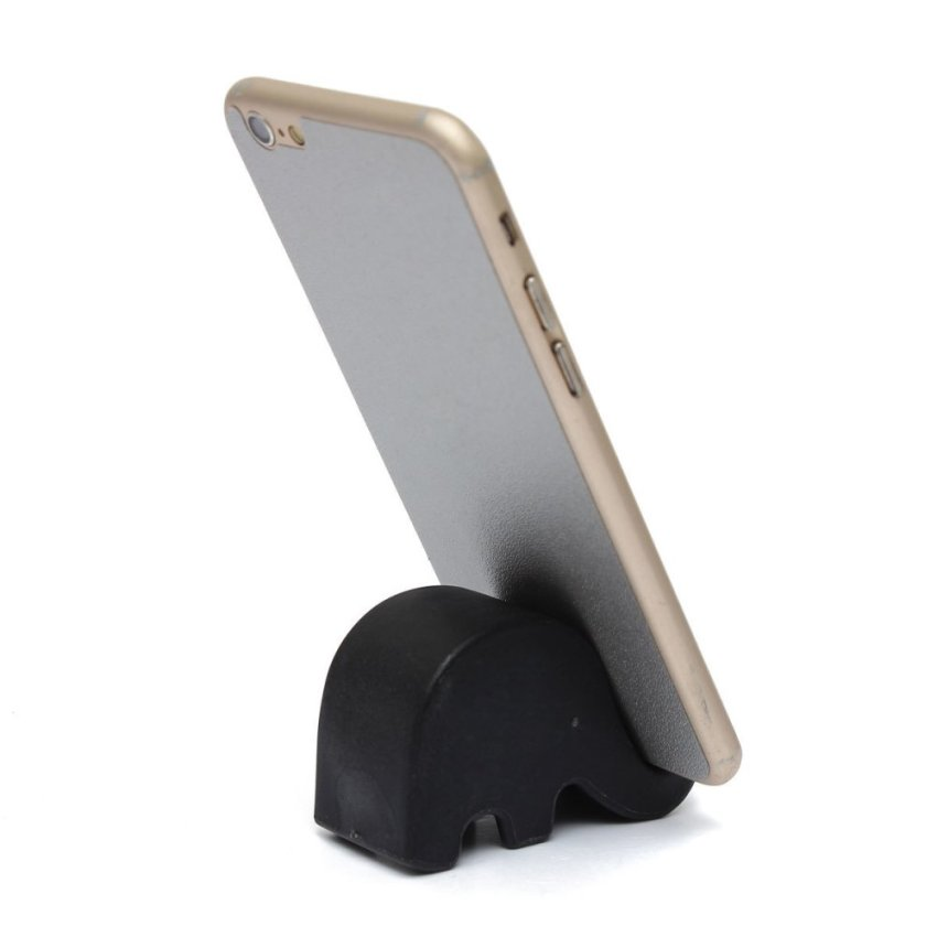 Elephant Mobile Phone Holder Universal Name Card Cute Desk Tidy UK