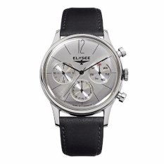 Elysee Male Watches Clasic I Jam Tangan Pria - Hitam - Strap Leather Strap - 38012 (All Size)