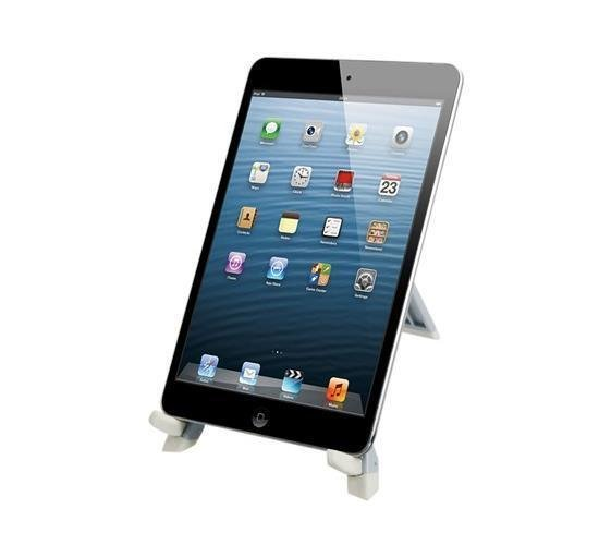 EOSCN ABS Plastic Stand for iPad 2/3/4 and Samsung P1000 (Silver) (Intl)