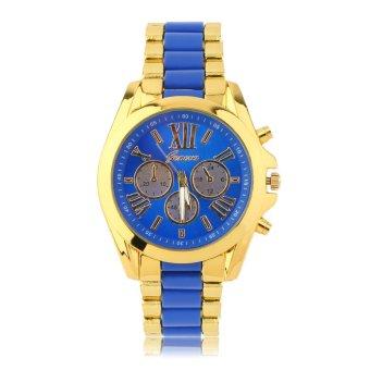 ERA Women's Fashion Luxury Quartz Golden Smooth Band Roman Numerals Dial Watch