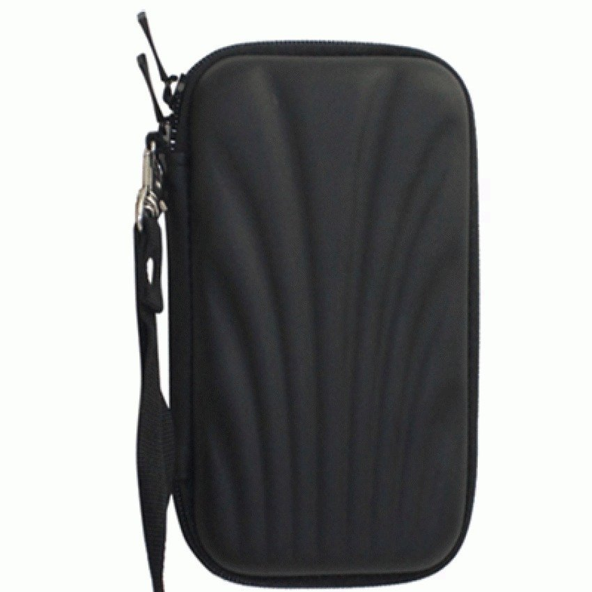EVA Shockproof Case Bag for External HDD 2.5 Inch / Power Bank - HD403 - Hitam