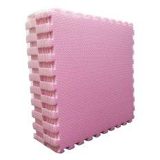 Evamat - Polos / Alas Lantai Modern / Mats Aman Untuk Anak Bermain - Pink