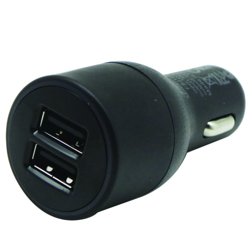 Excellence Dual Output Car Charger - 2 A + 2 A