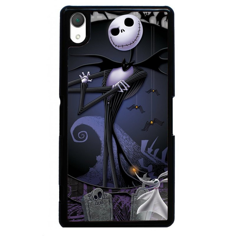 Fahion Pumpkin Prince Painting Phone Case for SONY Xperia Z3 (Black)