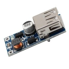 Fang Fang 0.9V-5V To 5V DC-DC Booster Module USB Mobile Step-up Power Supply (Silver) - Intl