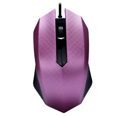 Fashion 1000 DPI USB Wired Optical Gaming Mice For PC Laptop (Purple) - Intl
