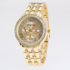 Fashion And Simple Style Ladies Watch (Gold)
